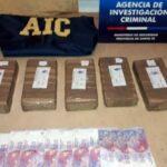 Arrestaron a un menor con 5 kilos de cocaína en Santa Fe