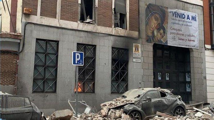 Fuerte explosión en un edificio de Madrid: al menos 3 muertes